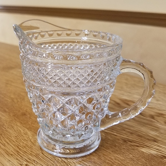 Vintage Glass Creamer